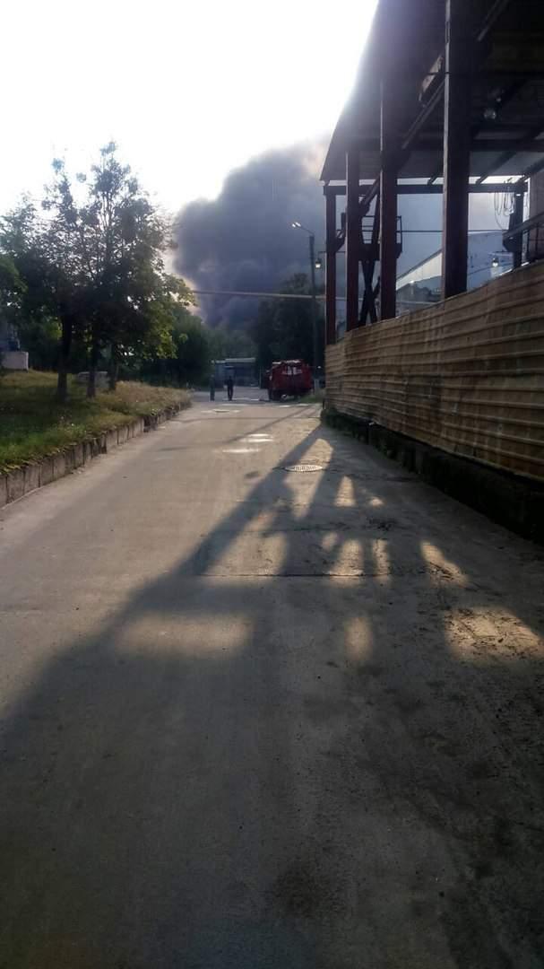 Подробности масштабного пожара в Харькове (Фото)