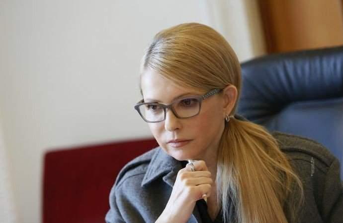 Тимошенко хочет собрать экстренное заседание в Раде для обсуждения катастрофической ситуации в стране