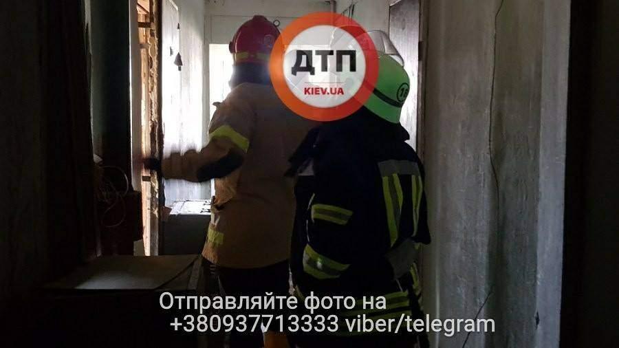 В столице выгорело несколько квартир: Погиб ребенок (Фото)