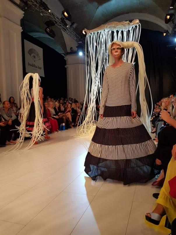 Береза под впечатлением от показа известного украинского дизайнера (Фото)