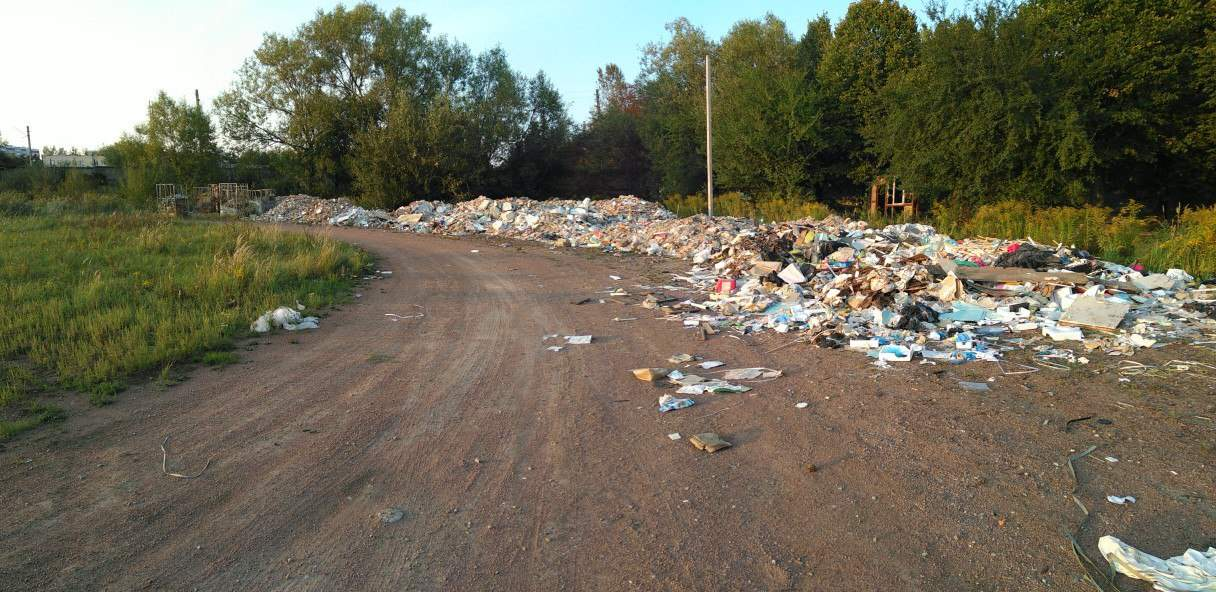 Во Львове обнаружена очередная стихийная свалка (Фото)