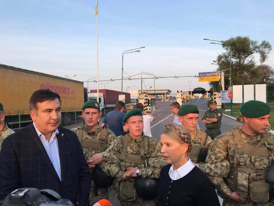 Саакашвили направился во Львов (Видео)