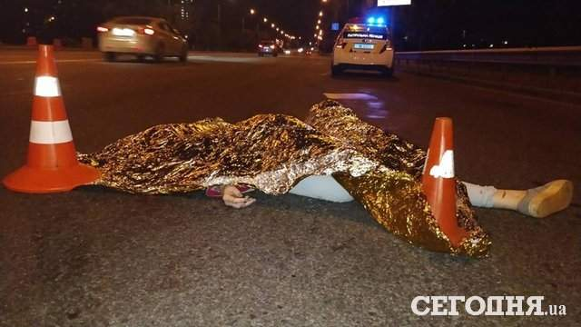 Фейкове номера и настоящая смерть: в столице Land Rover задавил девушку (фото)
