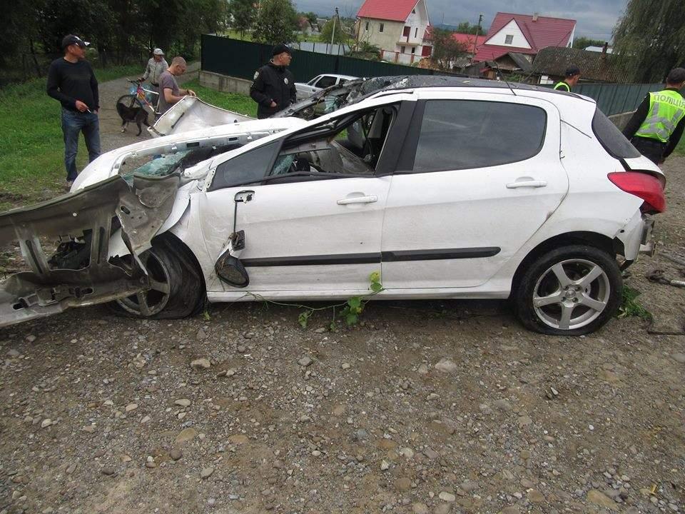 В Ивано-Франковской области водитель