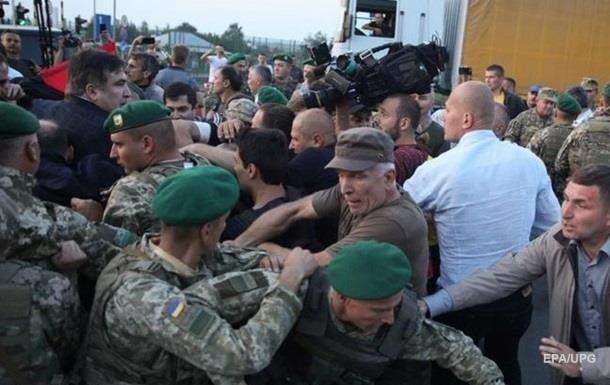 Прорыв Саакашвили в Украину: Арестован один из участников