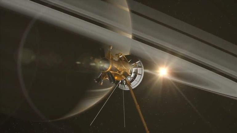 NASA попрощалось с легендарным Cassini