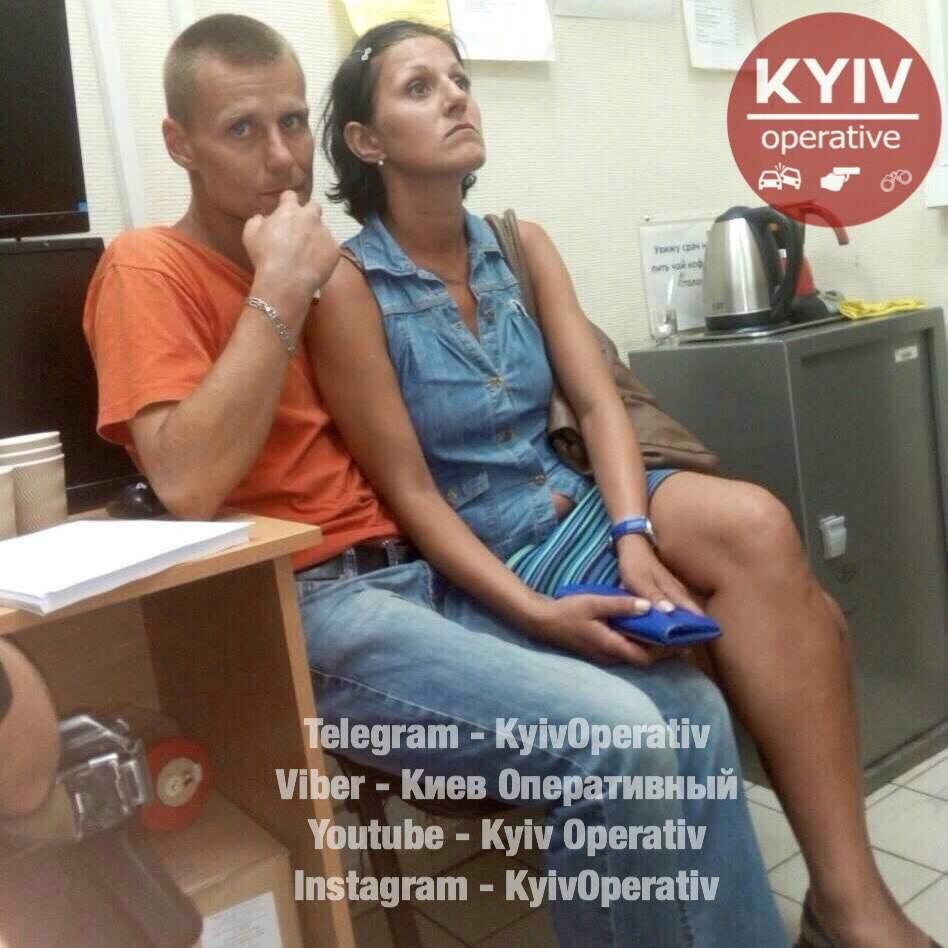 В Киеве орудует семейная пара «хронических»  грабителей, замеченная на воровстве во всех супермаркетах (фото)