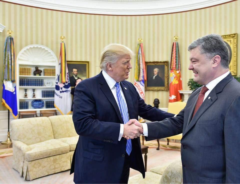 Посол Украины Чалый рассказал о будущей встрече Трампа с Порошенко