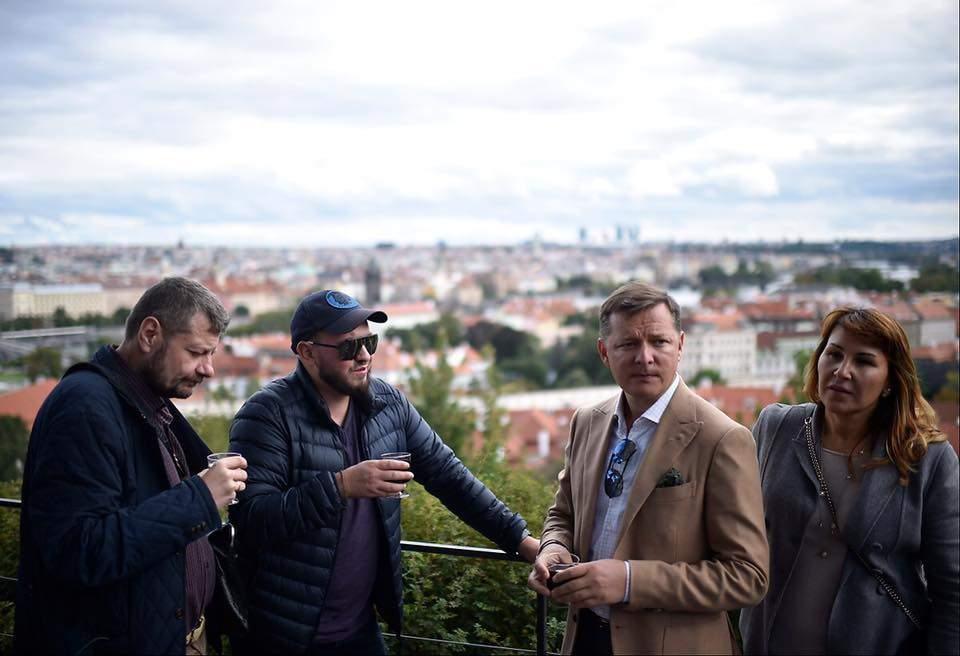Команда «радикалов» во главе с Ляшко отдыхает «на полную катушку» в Праге (фото)