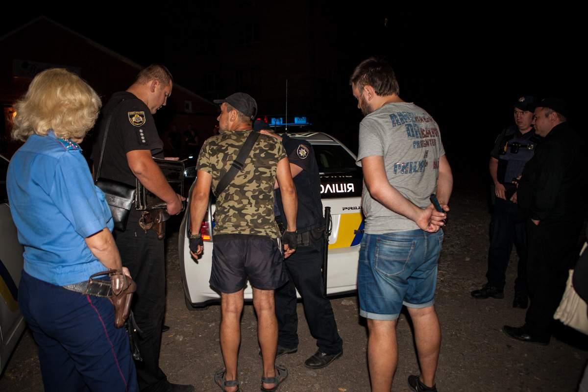 «Тот, который не стрелял»: в Днепре боец АТО «отметился» ночной стрельбой (фото)