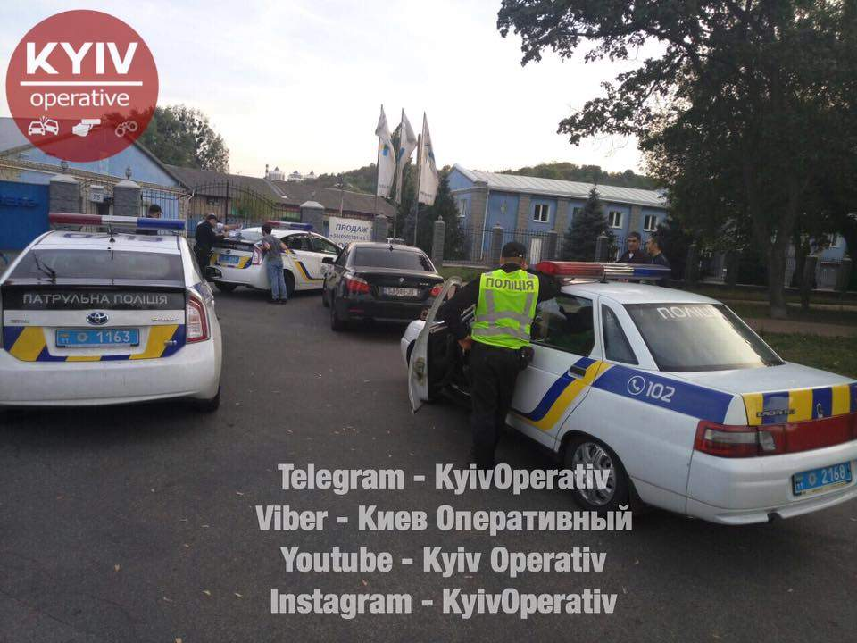В столице водитель без прав пытался скрыться от правоохранителей (Фото)