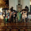 Под стенами украинского парламента прошел ночной пикет