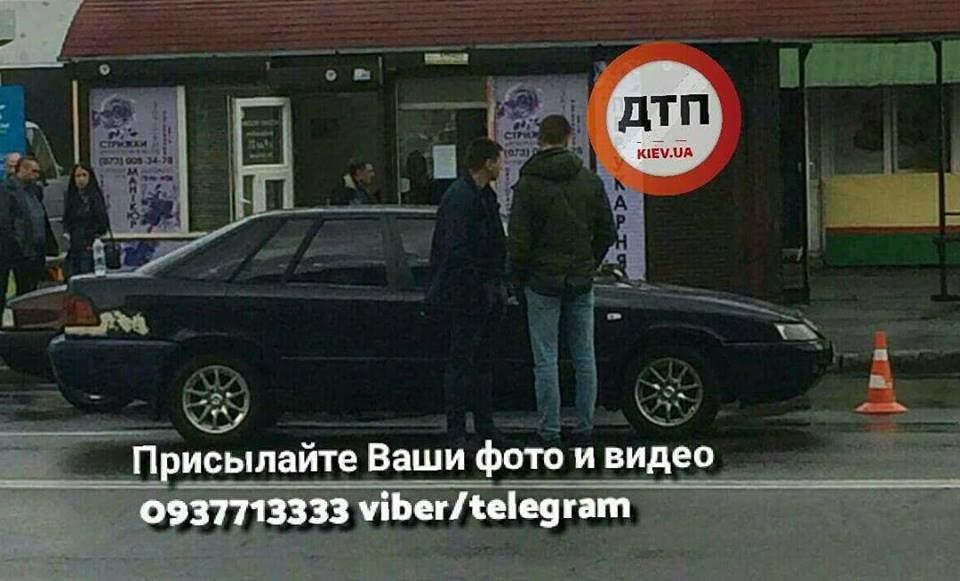 В столице автомобиль сбил пожилую женщину (Фото)