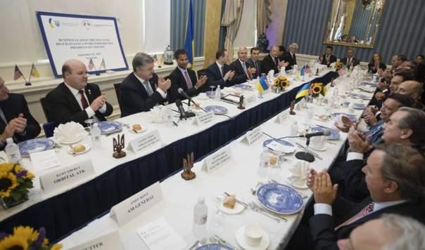 Порошенко рассказал о реформах в Украине американским бизнесменам