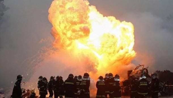 В Китае на неисправном заводе фейерверков произошёл взрыв: погибли 7 человек