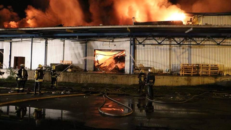 В Киеве произошел масштабный пожар (Фото)