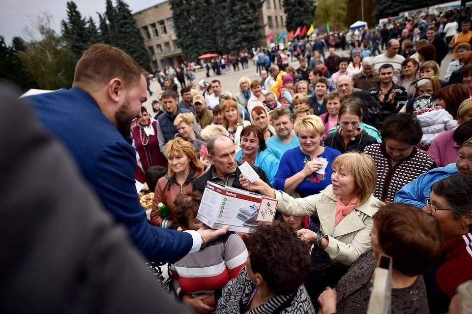 Нардеп от Радикальной партии провел на Черниговщине лотерею (Фото)