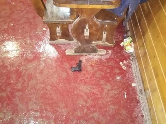 В Закарпатской области конфликт в кафе закончился стрельбой (фото)