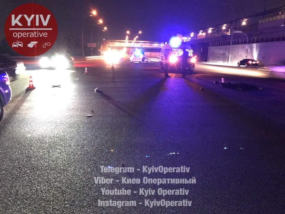 «Легкомыслие ценою в жизнь»: в Киеве велосипедист-нарушитель погиб под колёсами Volkswagen (фото)