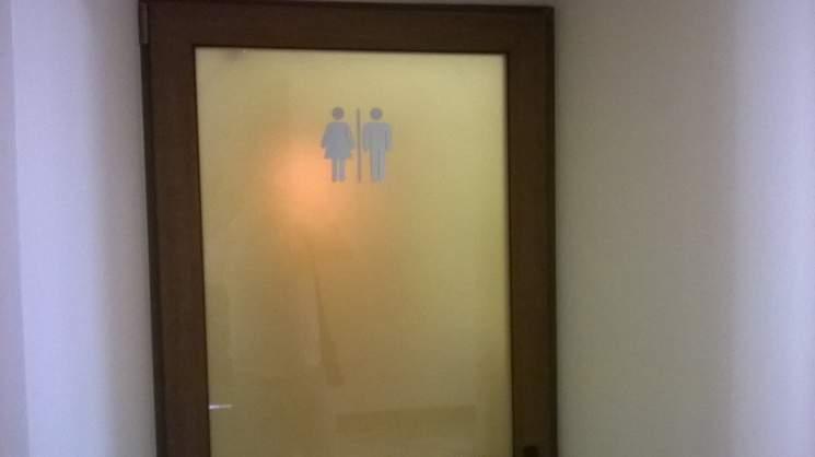 ««Их, чиновников, не понять»: в Киевсовете установили необычный туалет (фото)