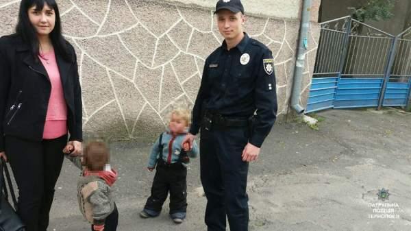 В Тернополе полицейские отобрали у ромов чужих детей (Фото)