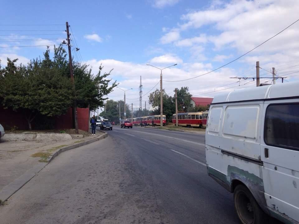 В Харькове сгорела автомойка (Фото)