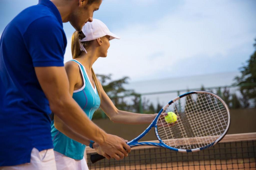 Теннисная академия в Киеве