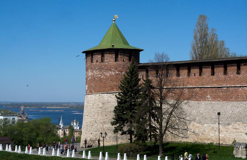Нижегородский кремль как главный архитектурный  комплекс города