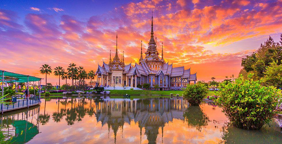 Значимые места в одном из красивейших городов Таиланда