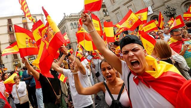 В Каталонии начался референдум о независимости провинции
