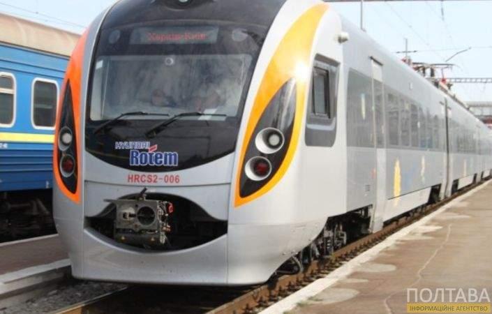 Под Полтавой под колёсами поезда погиб местный житель