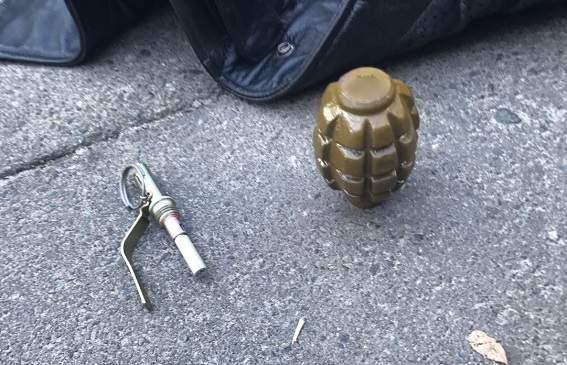 В Киеве полицейские арестовали мужчину с боеприпасом