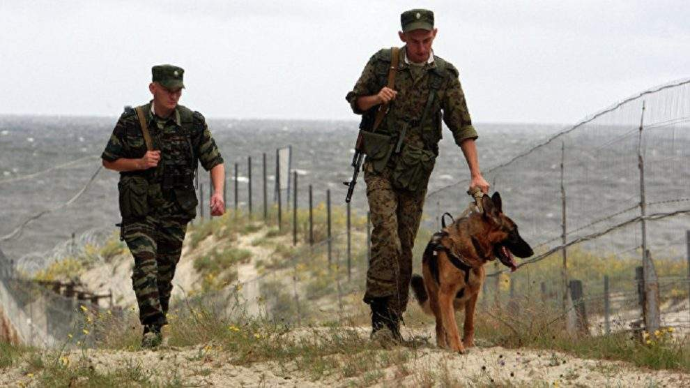 Российский пограничник застрелен недалеко от украинской границы
