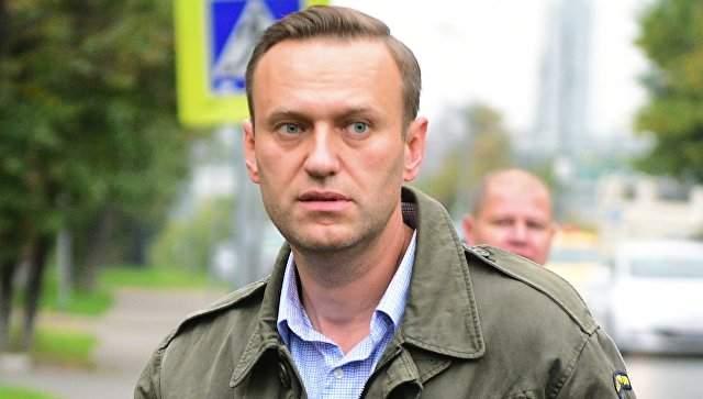 В России арестовали известного оппозиционера Алексея Навального