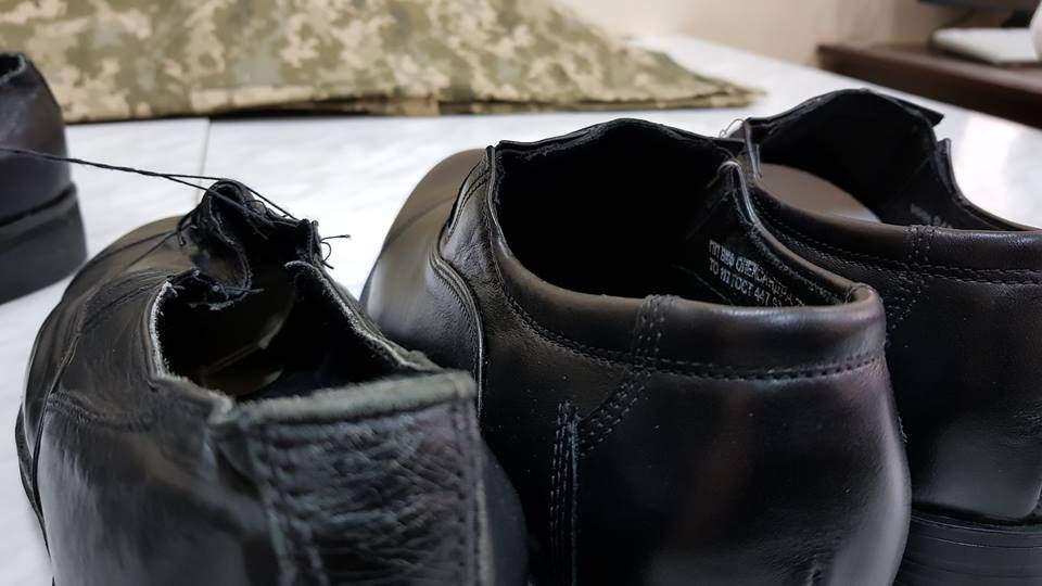 СМИ обнародовали фото новой обуви для офицеров ВСУ (фото)