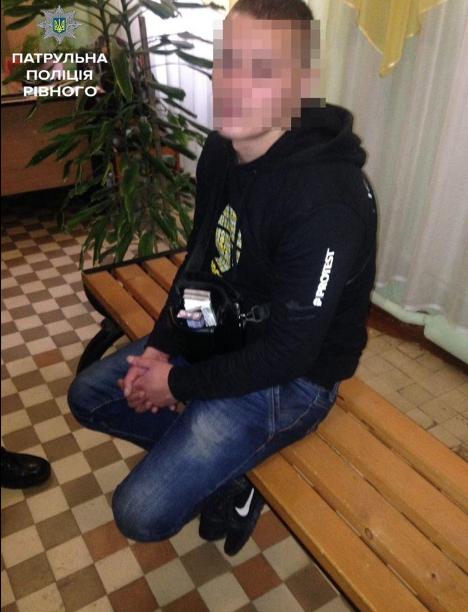 В Ровно грабитель ворвался в школу и ограбил детей (Фото)