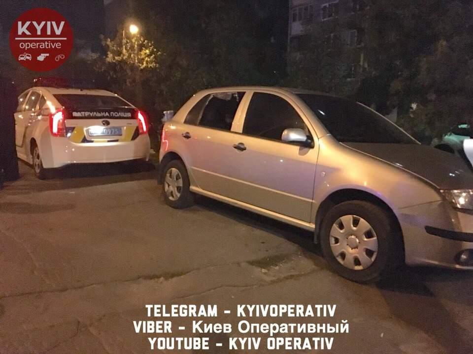 В столице таксист помог задержать автоворов (Фото)