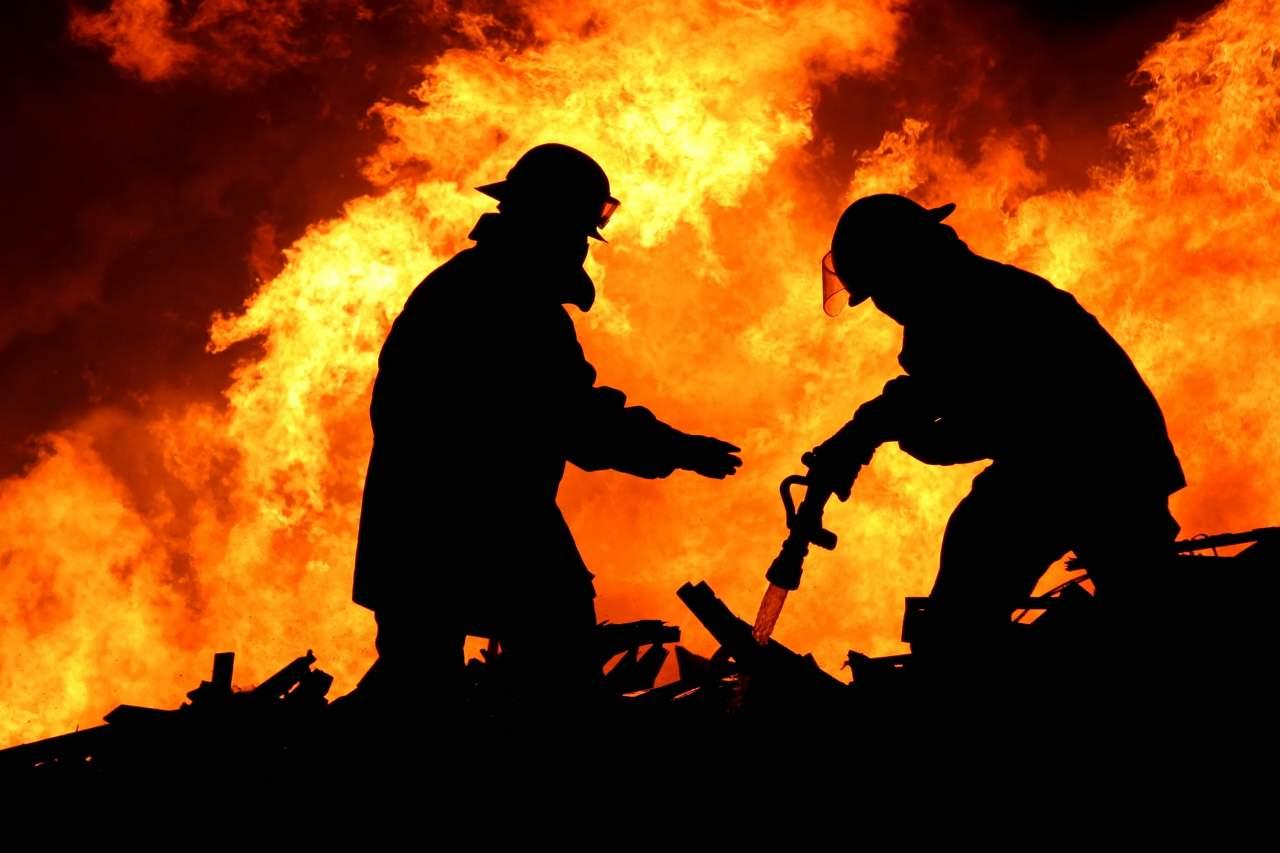 Во Львовской области произошел серьёзный пожар