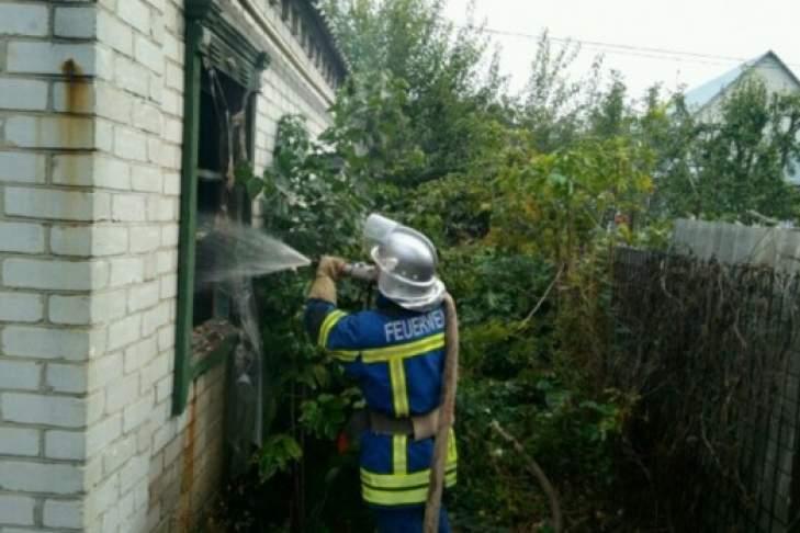 В Днепропетровской области после пожара обнаружили бездыханное тело