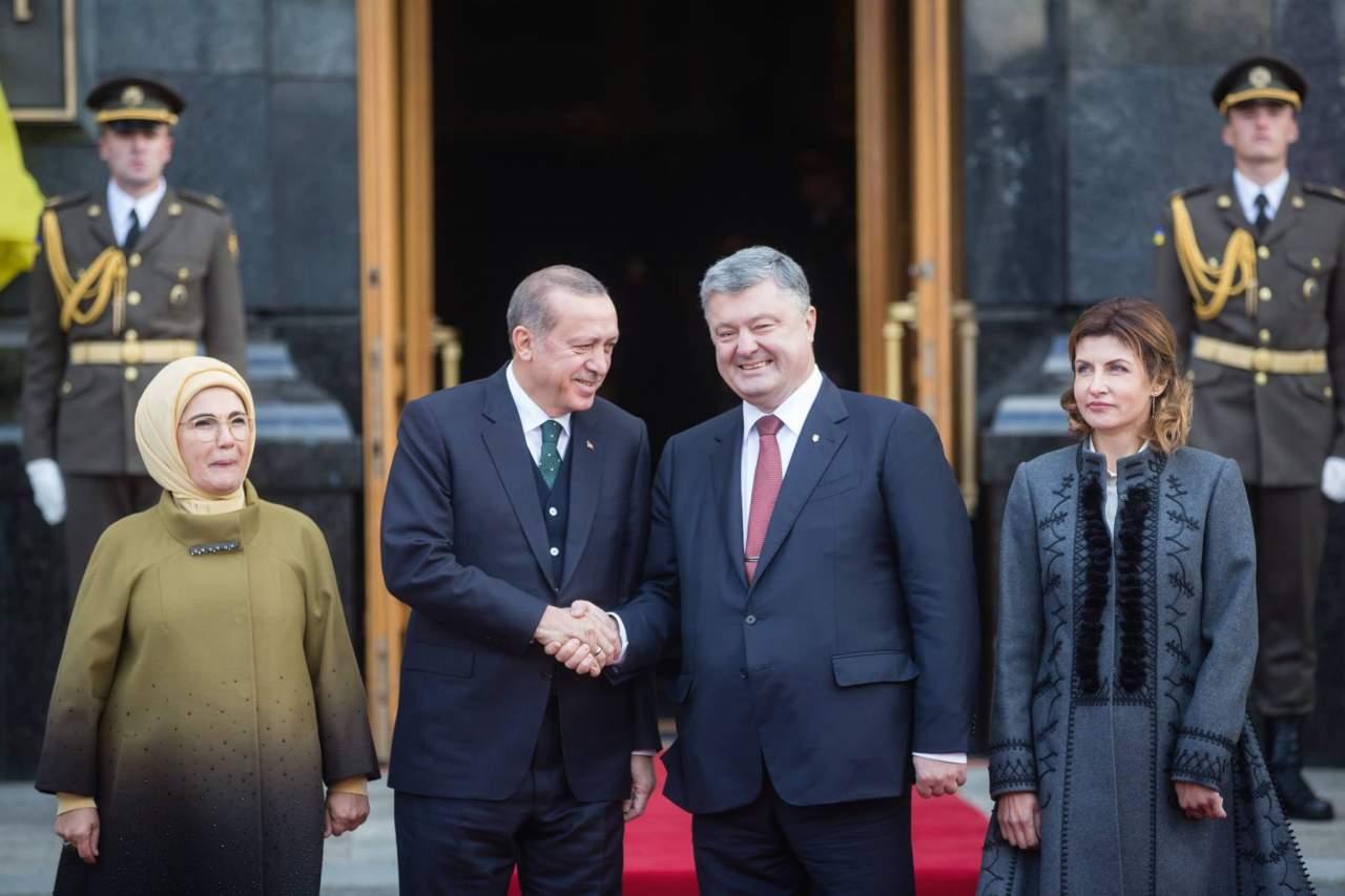 В Украину с официальным визитом прибыл Президент Турции (видео)