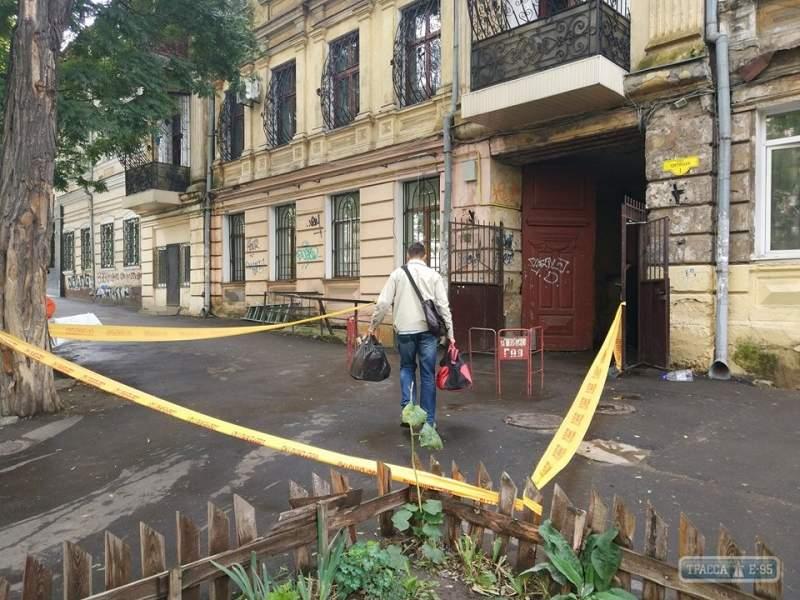 В Одессе неизвестные пытались поджечь «дом Жаботинского» (фото)