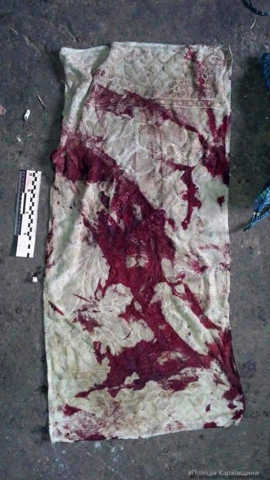 На Харьковщине пьяная женщина зарезала супруга (Фото)