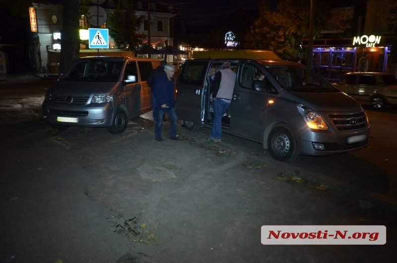 Туристы из Швейцарии попали в ДТП в Николаеве (Фото)