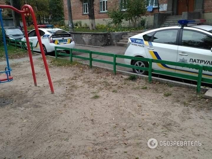 Киевлянин из окна квартиры решил устроить стрельбу (Фото)