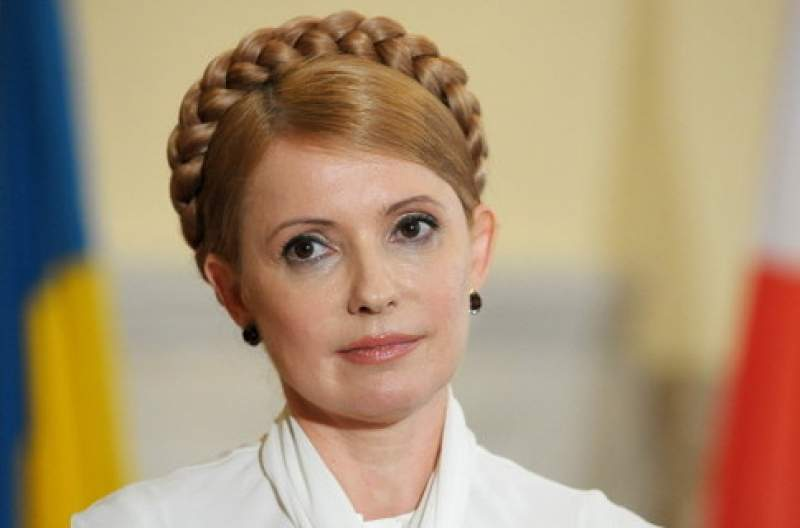 Тимошенко решила поддержать Саакашвили
