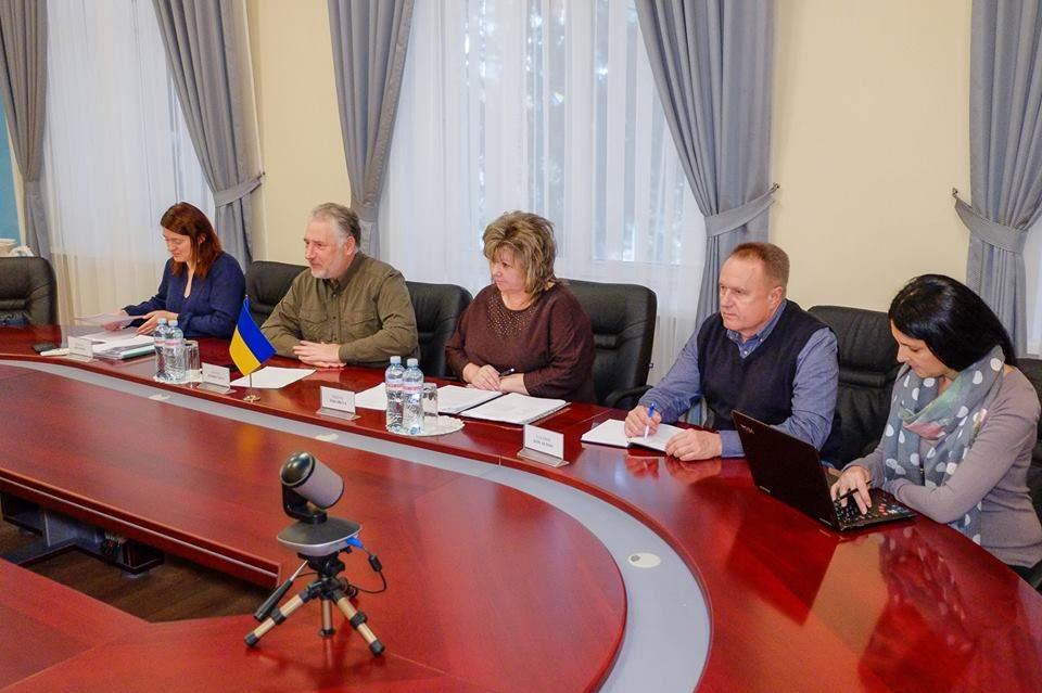 Посол Эстонии посетил Донбасс (Фото)