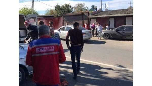 В Одесской области автобус влетел в дом. Пострадало 5 человек (Фото)