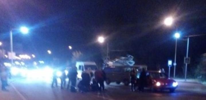 Во Львове легковой автомобиль сбил пешехода (фото)