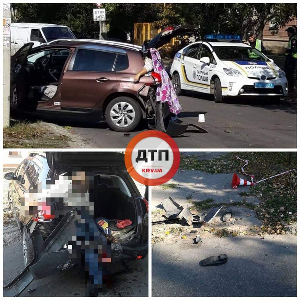 В Херсоне в результате ДТП водителя разорвало в собственном автомобиле (фото)