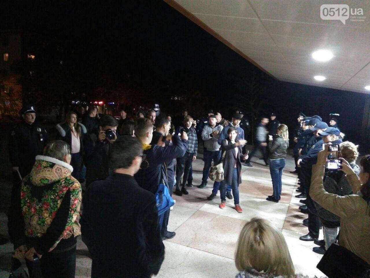 В Николаеве заминировано здание ОДК: Националисты пытаются сорвать концерт Бабкина (Фото)